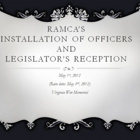 Legislator's Reception-<br />May, 2012